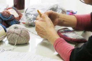 手編み講座