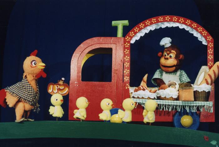 人形劇団クラルテ「ゴリラのパンやさん」