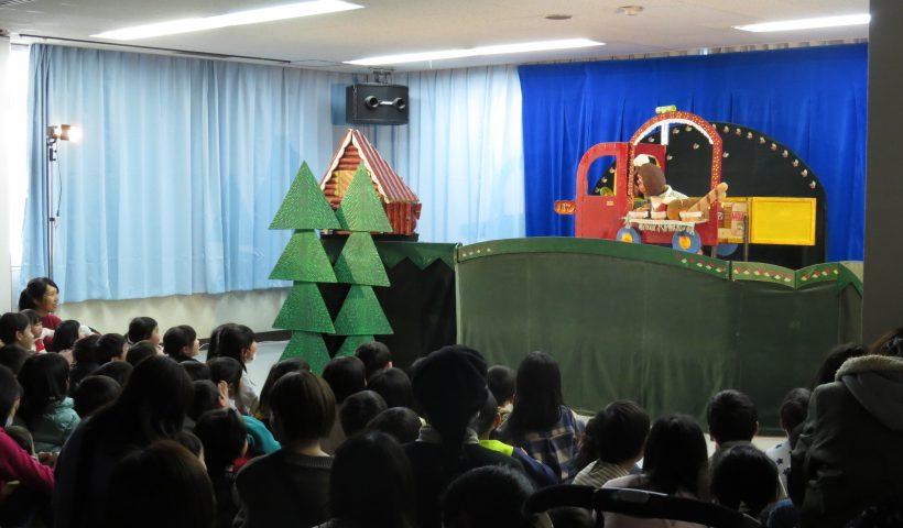 クラルテさん人形劇の様子